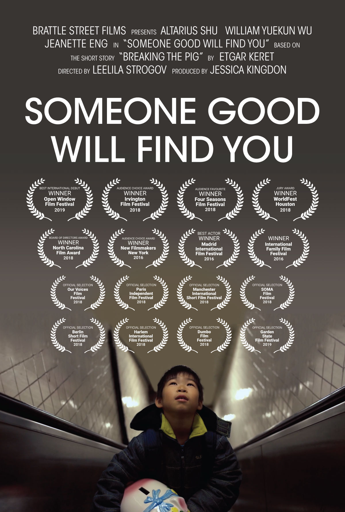Movie Poster - Someone Good Will Find You